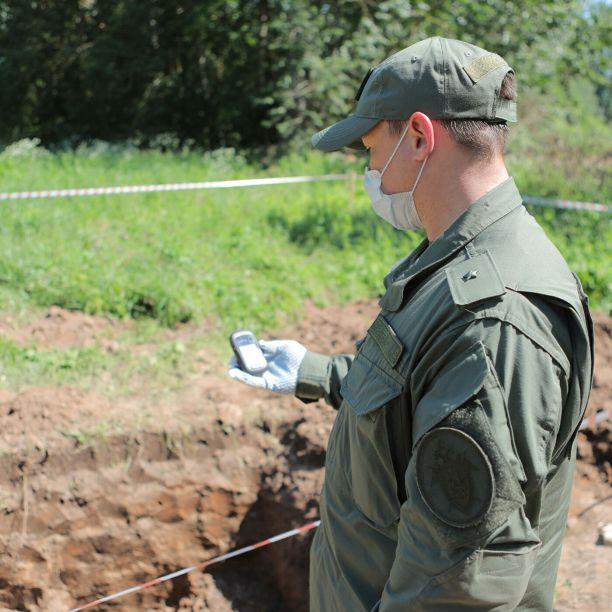 На территории концлагеря под Псковом нашли останки более 50 человек