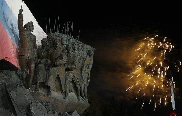 В Москве состоялся праздничный салют в день 75-летия освобождения Братиславы